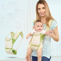 Wholesale kangaroo baby pouch resale online - New Breathable Front Facing Summer Baby Carrier for mummy Sling Backpack Newborn Waistband Pouch Wrap Kangaroo Easy to carry