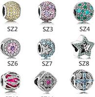 mücevherat için renkli zincirler toptan satış-Otantik 925 Gümüş Çok Renkli boncuklar Avrupa Yılan Zincir kolye Moda DIY Takı için Pandora bilezik Charms uyar