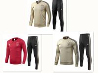 ingrosso jersey club sport-Ajax squadra di calcio nel 2019-2020 formazione tuta da jogging Maglia Abbigliamento sportivo uomo vestito di sport del vestito di modo di svago