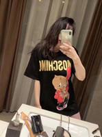 gömlek boynu tipi toptan satış-Toptan Lady Kentsel Eğlence Gevşek Tipi Uzun Kollu T-Shirt Yüksek Kalite Yeni Trend Kollu Yuvarlak Boyun Saf Renk T-shirt