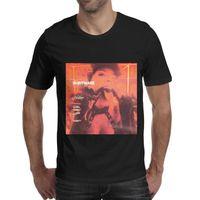 projetos de camisa de banda venda por atacado-Halsey-Pesadelo-News-Mens T Shirt camisas pretas Camisas Feitas Sob Encomenda T Impressão Gráfica Banda Projetar Sua Própria Camisa Preto