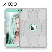 feste tablette großhandel-AICOO Roboter der zweiten Generation - stoßfeste Tablet-Hülle aus Silikon für iPad Pro 10.5 OPP