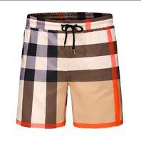 calções de praia natação venda por atacado-Shorts de moda por atacado de verão nova placa de designer curto secagem rápida SwimWear impressão Board praia calças homens Mens Swim Shorts