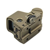 Wholesale green dot tactical rifle scopes for sale - Group buy Tactical Holographic Sight T dot Red and Green Dot Hunting Rifle Scope with mm Rail Mount