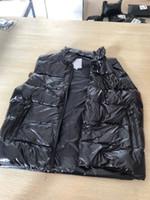 colete do hoodie dos homens venda por atacado-Mens Designer Jaqueta Colete Casaco Com Zíper de Luxo Reflexivo Trincheira Casuais Com Capuz Das Mulheres Dos Homens Da Marca Blusão Casaco Jaqueta Da Marca de Moda Vest Tops