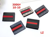 tasarımcı marka erkek cüzdanları toptan satış-Erkek marka cüzdan ücretsiz kargo erkek deriGUCCI Cüzdan Ile Erkekler Için Çanta Luxurys Tasarımcılar Marka Erkek Cüzdan N75H