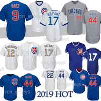 291a0d29174 Wholesale chicago cubs baseball online - 9 Baez Rizzo Chicago Baseball  jerseys Cubs Bryant Kyle Schwarber