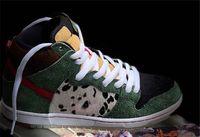 ingrosso i migliori escursionisti-2019 Originale SB Dunk High Dog Walker BQ6827-300 Camoscio Mens scarpe da basket Sneakers sportive in esecuzione con la scatola Autentico Migliore