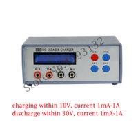 bateria de lítio cr botão venda por atacado-EBC-A01 Battery Capacity Tester eletrônico Carga CR Botão Bateria AAA bateria de lítio pequena capacidade