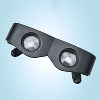 binoculares lupa al por mayor-Fish Drift Fishing Telescope Magnifier Binoculares Ampliar Tipo de gafas Gafas portátiles Equipo Artículos deportivos Venta caliente 4 8gl O1