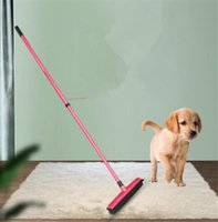 Wholesale broom sweepers for sale - Group buy Rubber Broom Pet Hair Lint Removal Device Telescopic Bristles Magic Clean Sweeper Squeegee Scratch Bristle Long Push Broom