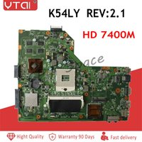 intel asus anakart toptan satış-REV: 2.1 K54LY Anakart Asus A54LY X54LY X54HY K54HR A54HR K54LY dizüstü Anakart Intel HM65 DDR3 PGA989 100% çalışma