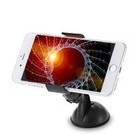 vakuumteile großhandel-360 Grad-Drehauto-Vakuumklemmen-Telefon-Halter mit Saugnapf-justierbaren Werkzeugteilen für Handy / GPS / PDA / PSP / IPod / IPhone BA