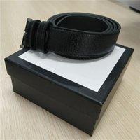 womens black gold belt venda por atacado-Cintos de grife para Cintos de Mens Designer de Cinto de Couro de Cinto de Serpente de Luxo Cintos de Ouro Preto Womens Big Ouro Fivela de envio com Caixa de 640010