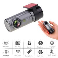 nachtsicht usb versteckte kamera großhandel-Auto fahren Recorder Mini Wireless Auto Dash Cam DVR Video Recorder versteckte HD 1080P USB Kamera Monitor Nachtsicht-Camcorder