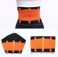 Wholesale belly trimmer belt resale online - Body Hot Shapers Trimmer Waist Support Cincher Shapewear Girdle Corset Belt Waist Trainer Slimming Belt Belly Slimming Belts
