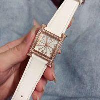 Wholesale binary black watches resale online - Fashion Top Brand Women Luxury Watches Rose gold Dresses Wristwatches for lady girl montre de luxe diamond watch reloj de lujo designer