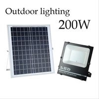 Wholesale solar 12v led street lights for sale - Group buy Solar Lights LED Spotlight W W W W Remote Control Floodlight Tuinverlichting Street Lamp Waterproof IP67
