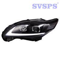 ingrosso luci della testa del toyota-Car Styling di alta qualità Sinistra Destra Luce anteriore Lampada frontale per Toyota Corolla 2011-2013