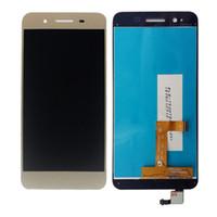 etiqueta de pantalla lcd al por mayor-SZMUGUA 1280x720 5.0 '' LCD para Huawei GR3 Disfrute 5S TAG-L21 TAG-L01 TAG-L03 TAG-L13 TAG-L22 Pantalla LCD digitalizador de pantalla táctil