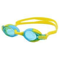 gläser zubehör für kinder großhandel-Kinder Schwimmbrille Kinder HD Anti-Fog Tauchen Schwimmbrille Silikon Große Rahmen Kinder Zubehör