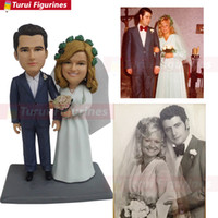 Wholesale resin wedding personalized for sale - Group buy birthdayWedding Cake Topper Personalized Custom real doll custom clay dolls fixed resin body Valentine s Day gift idea doll