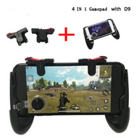 manette de jeu pour téléphone achat en gros de-Pubg Mobile Gamepad Pubg Controller pour Phone L1R1 Grip avec Joystick / Trigger L1r1 Pubg Boutons Feu pour iPhone Android IOS