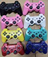 Wholesale video game packaging for sale - Group buy DHL FREE Wireless Bluetooth Game Controller for PlayStation PS3 Game Controller Gamepad Joystick for Android Video Games without packaging