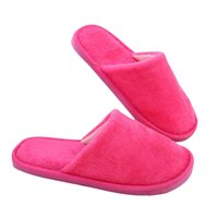Wholesale men bedroom shoes for sale - Group buy Solid Winter Warm Home Slippers Men Women Bedroom Slippers Indoor Slippers Cotton Floor Home Plush Shoes