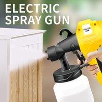 máquina de pintura a óleo venda por atacado-8000ML elétrica Pistola de látex tinta spray óleo de máquina de pintura máquina de alta pressão de atomização Iniciante Ferramentas