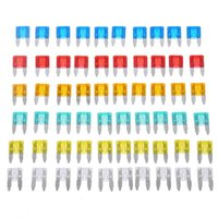 Wholesale 15a fuse car for sale - uto Replacement Parts Fuses VODOOL uto Car Truck Mini Fuse Blade A A A A Mixed Set Kit Car