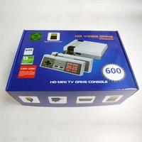 satılık mini tv'ler toptan satış-2019 Sıcak Satış Yeni yükseltme NES MINI 600 HD 8-bit TF kart TV oyun konsolu nostaljik klasik olmayan tekrarlayan oyun