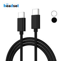 cables de carga de galaxias al por mayor-Cable Tipo C a USB C de USB para Samsung Galaxy S9 Plus Nota 9 Soporte Cable de carga 3A PD para dispositivos de tipo C