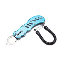 Wholesale fish lip gripper grabber for sale - Group buy Aluminum Fish Lip Grabber Control Fish Clamp Grip Portable Lightweight Fishing Gripper Fishing Tackle Accessorydiscount