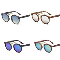 ed25a966e014 Wholesale leopard print glasses frames resale online - Ellipse Frame  Sunglasses Man Women Summer Sun Glass