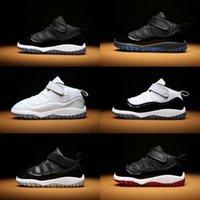bébé garçon chaussures pre walker achat en gros de-Enfants 11 XI Space Jam Chaussures Petits Bébés Garçons Filles Tout-Petits 11 ans Gamma Concord Bred Pre-Walkers Infantile Sportif Sneaker 6C-10C