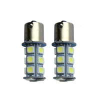 ingrosso le lampadine a led automobilistiche-1156 1157 5050 18SMD Automotive Fashion Led Lampadina Luce di retromarcia Lampada Posteriore Car RV Trailer Lampadina