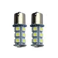 lâmpada 1156 venda por atacado-1156 1157 5050 18SMD Automotive Moda Led Light Bulb Patch Lâmpada Reversa Luz Traseira Do Carro RV Reboque lâmpada