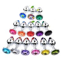 Wholesale rosebud plugs for sale - Group buy Factroy Stainless Steel Attractive Butt Plug Jewelry Jeweled Anal Plugs Rosebud Anal Sex buttplugs