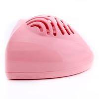 mini dedo polonês venda por atacado-Mini secador de cabelo portátil Nail Art Finger Toe Dryer Verniz Secador de ar Blower Nail Polish Machine