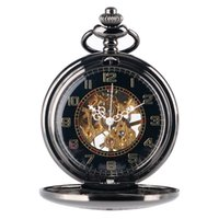 часы для женщин серебристый оптовых- Chain Stylish Pocket Watch Retro Silver Exquisite Necklace Classic Pendant Mechanical Hollow Women Skeleton Gift