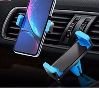 универсальная подставка оптовых-Универсальный автомобильный держатель телефона Стенд Air Vent Mount 360 Degreen Для поддержки телефона 4-6 дюймов Стенд Держатель в автомобиле