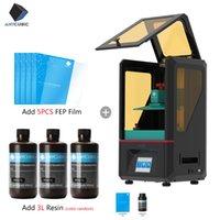 slicer plus venda por atacado-Printer Anycubic 3D Photon Kits SLA / LCD High Precision Plus Size fóton resina Slicer fotopolimerizável Impressora Imprimante 3d UV