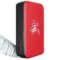 odak ped eğitim toptan satış-Dikdörtgen Odak Boks Tekme Grev Boks Pad Güç Punch Dövüş sanatları Eğitim Ekipmanları