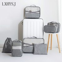 Wholesale underwear packs for sale - Group buy LXHYSJ Travel Storage Bag Clothes Underwear Finishing Organizer Suitcase Bag Waterproof Shoes Packing Cube