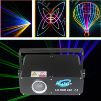 DMX512 PC programable 500mw RGB animation analog modulation laser lighting show stage disco dj projector