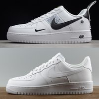Wholesale high sneakers online for sale - Group buy Buy Brand airlis mens womens fashion designer shoes sneakers af1 all white black forces one low high best online