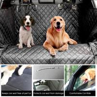 cubierta de coche resistente al agua al por mayor-Dog Car Trunk Cover Cargo Cover para Pet Trunk resistente al agua Pet Pad SUV Cargo Liner para perros antideslizante Car Protector Mat Seat