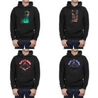 chris brown hoodie al por mayor-Hombres Diseño Impresión Chris Brown Art Logo negro Sudaderas con capucha Suéter de superhéroe personalizado Tipo de sudadera con capucha Beat Cartel Licor Letras