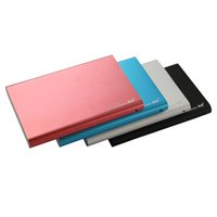 2tb жесткий диск sata оптовых-blueendless HDD внешний 2,5-дюймовый защитный корпус SATA алюминиевый жесткий диск HDD корпус SATA II USB 3,0 HDD корпус для жесткого диска 2 ТБ U23S